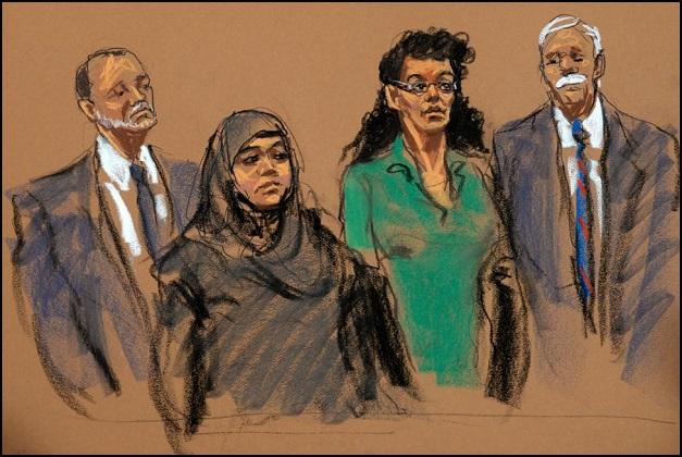 2 Muslim Women NYC Bomb Plot (resized)